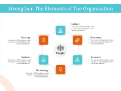 5 Pillars Business Long Term Plan Strengthen The Elements Of The Organization Demonstration PDF