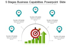 5 Stages Business Capabilities PowerPoint Slide Ppt PowerPoint Presentation File Infographic Template PDF