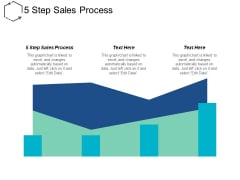 5 Step Sales Process Ppt PowerPoint Presentation Inspiration Styles Cpb