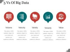 5 Vs Of Big Data Ppt PowerPoint Presentation Microsoft