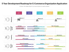 5 Year Development Roadmap For E Commerce Organization Application Structure