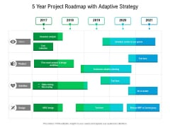 5 Year Project Roadmap With Adaptive Strategy Topics