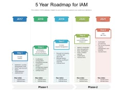 5 Year Roadmap For IAM Ideas