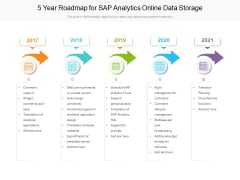 5 Year Roadmap For SAP Analytics Online Data Storage Professional