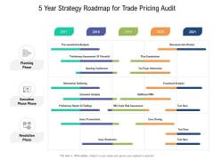 5 Year Strategy Roadmap For Trade Pricing Audit Rules