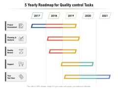 5 Yearly Roadmap For Quality Control Tasks Designs