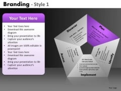 5 Factors Pentagon Process PowerPoint Slides Ppt Templates