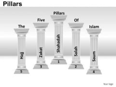 5 Pillars Of Islam PowerPoint Slides And Ppt Diagram Templates