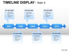 5 Year Plans Forecasts Goals PowerPoint Slides And Ppt Diagram Templates