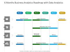 6 Months Business Analytics Roadmap With Data Analytics Brochure