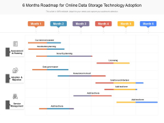 6 Months Roadmap For Online Data Storage Technology Adoption Rules