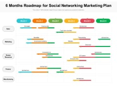 6 Months Roadmap For Social Networking Marketing Plan Rules