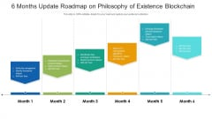 6 Months Update Roadmap On Philosophy Of Existence Blockchain Download