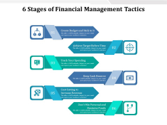 6 Stages Of Financial Management Tactics Ppt PowerPoint Presentation Gallery Information PDF