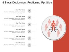 6 Steps Deployment Positioning Ppt Slide Ppt PowerPoint Presentation Pictures Tips PDF