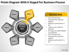 6 Staged For Business Process Ppt Annual Plan Template PowerPoint Templates