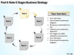 6 Stages Business Development Strategy Template Ppt Plan Programs PowerPoint Templates