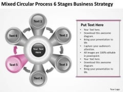 6 Stages Business Strategy Consultants Ppt Plan For Startup PowerPoint Templates
