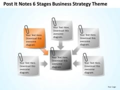 6 Stages Internet Business Strategy Theme Ppt Plan PowerPoint Templates