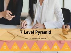 7 Level Pyramid Portfolio Management Process Ppt PowerPoint Presentation Complete Deck