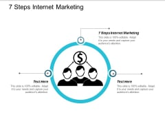 7 Steps Internet Marketing Ppt Powerpoint Presentation File Files Cpb