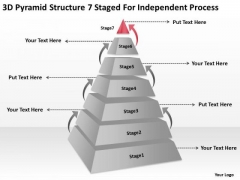 7 Staged For Independent Process Ppt Restaurant Business Plans Examples PowerPoint Slides
