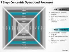 7 Steps Concentric Operational Processes Ppt Buy Business Plans PowerPoint Templates