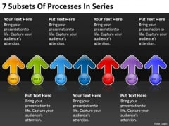 7 Subsets Of Processes In Series Bussiness Plan PowerPoint Slides