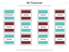 8D Flowchart Ppt PowerPoint Presentation Ideas Slideshow Cpb Pdf