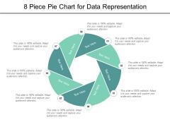 8 Piece Pie Chart For Data Representation Ppt PowerPoint Presentation Ideas