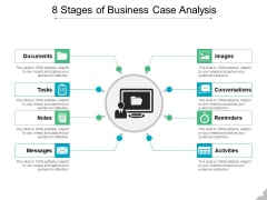 8 Stages Of Business Case Analysis Ppt PowerPoint Presentation Gallery Outline PDF