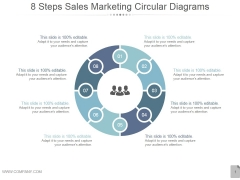 8 Steps Sales Marketing Circular Diagrams Ppt PowerPoint Presentation Gallery
