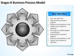8 Business PowerPoint Theme Process Model Landscape Plan Templates