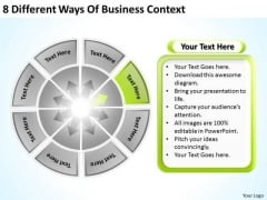 8 Different Ways Of Business Context Best Plan Software PowerPoint Slides