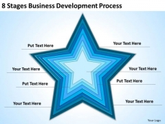 8 Stages Business Development Process Ppt Plan Template PowerPoint Slides