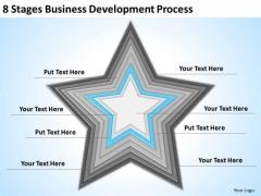 8 Stages Business Development Process Ppt Score Plan Template PowerPoint Templates