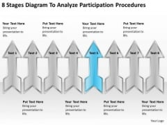 8 Stages Diagram To Analyze Participation Procedures Cupcake Business Plan PowerPoint Slides