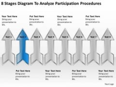 8 Stages Diagram To Analyze Participation Procedures Strategic Plan PowerPoint Templates