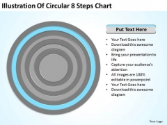 8 Steps Chart Ppt 7 How To Write Business Plan For Small PowerPoint Templates
