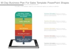 90 Day Business Plan For Sales Template Powerpoint Shapes