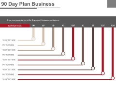 90 Day Plan Business Ppt Slides