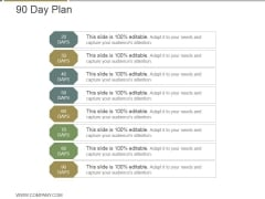 90 Day Plan Ppt PowerPoint Presentation Influencers