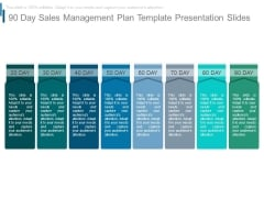 90 Day Sales Management Plan Template Presentation Slides