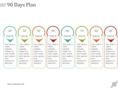 90 Days Plan Ppt PowerPoint Presentation Guidelines