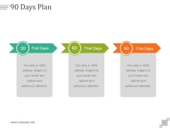 90 Days Plan Ppt PowerPoint Presentation Picture