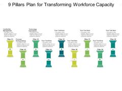9 Pillars Plan For Transforming Workforce Capacity Ppt PowerPoint Presentation Outline Portrait PDF