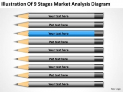 9 Stages Market Analysis Diagram Ppt 3 How To Write Out Business Plan PowerPoint Slides