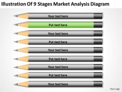 9 Stages Market Analysis Diagram Ppt Business Plan PowerPoint Templates