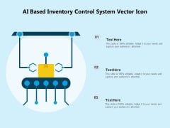 AI Based Inventory Control System Vector Icon Ppt PowerPoint Presentation Summary Clipart PDF