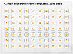 AI High Tech PowerPoint Templates Icons Slide Ppt Ideas Graphics PDF